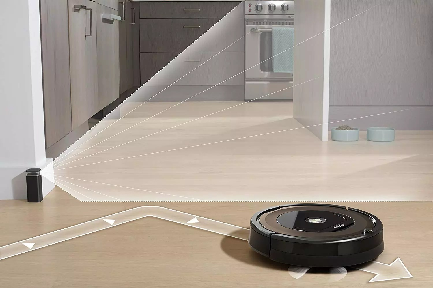 Premium 3-stage cleaning system