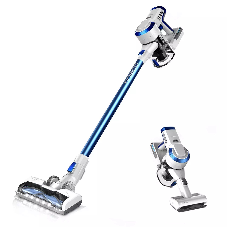 Tineco A10 Hero Cordless Stick Vacuum Cleaner Lightweight 350W Digital Motor Lithium Battery and LED Brush, Handheld Vacuum