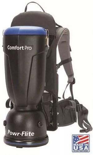 Powr-Flite BP6S Comfort Pro Backpack Vacuum