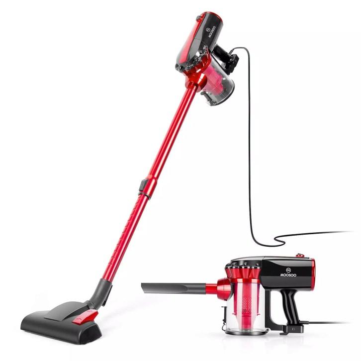 MOOSOO Vacuum Cleaner Corded Stick Vacuum