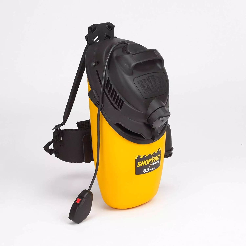 Shop-Vac 2860010 6.5-Peak HP Industrial BackPack Vacuum