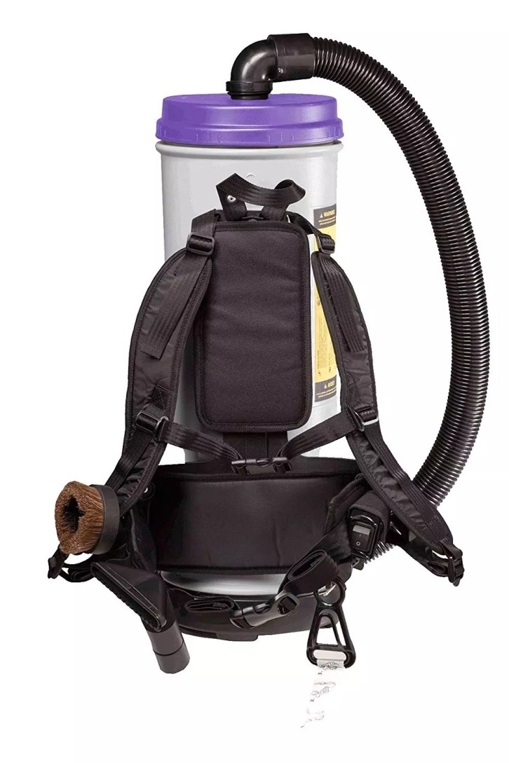 ProTeam Backpack Vacuums, Super CoachVac Commercial Backpack