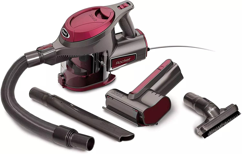 Shark Rocket Ultra-Light with TruePet Mini Motorized Brush Hand Vacuum (HV292)