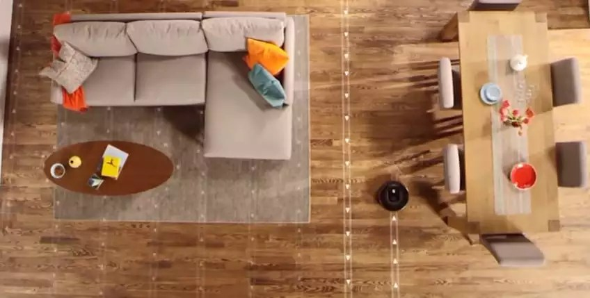The robot vacuum is a head turner