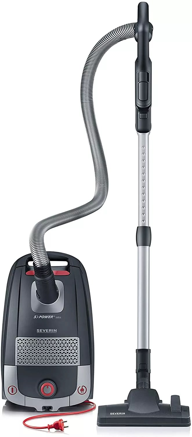 Severin S'PowerZelos BaggeCanister Vacuum Cleaner