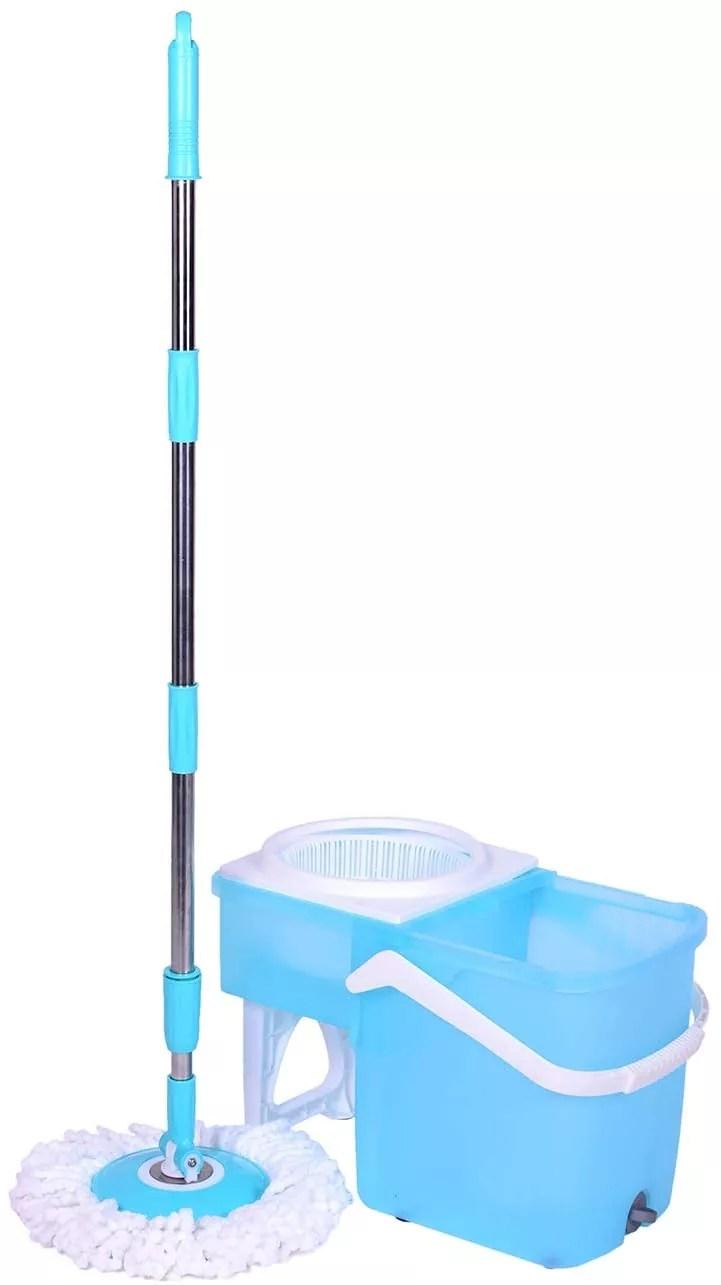 Original Hurricane Slide Spin Mop 360 - Machine Washable