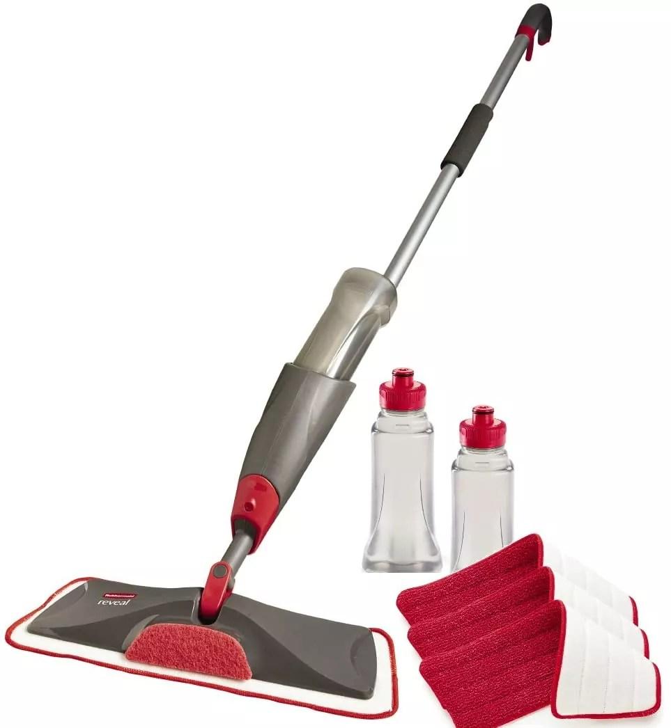 Rubbermaid Reveal Spray Mop Floor Cleaning Kit