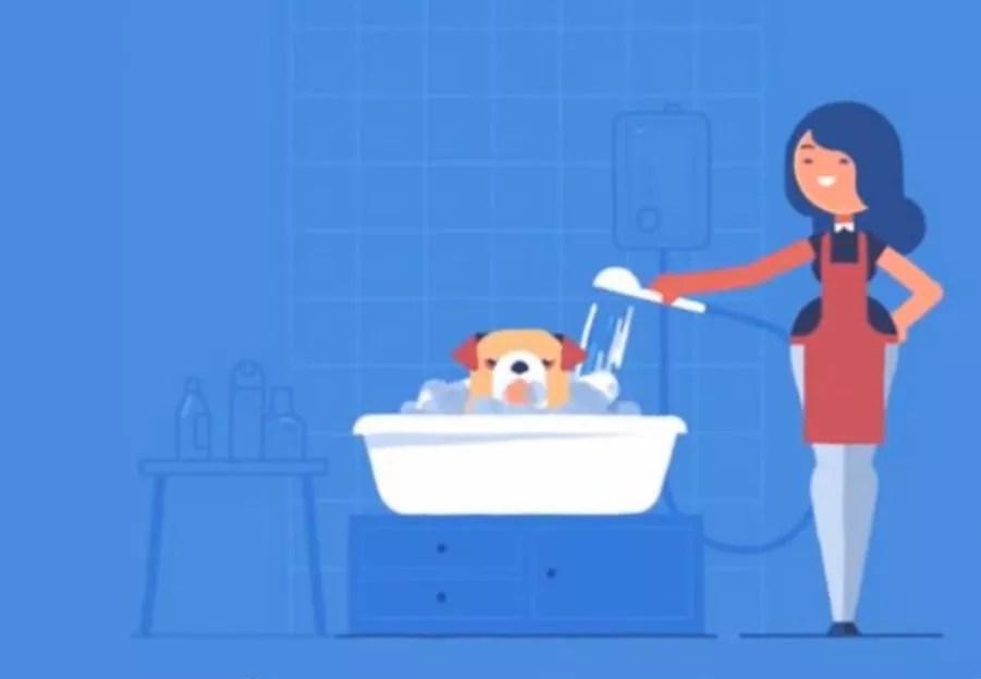 A warm bath