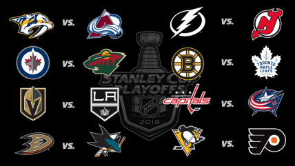 NHL Playoffs get underway