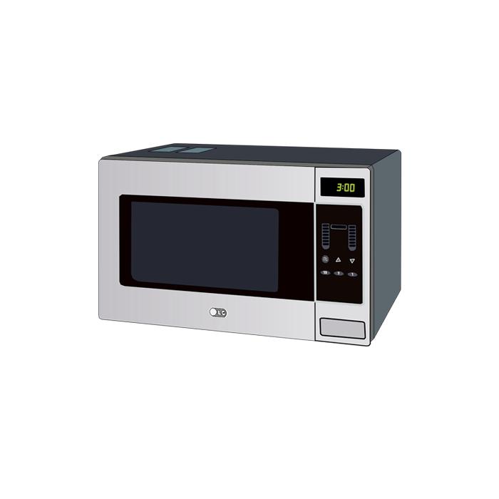microwave dropoff