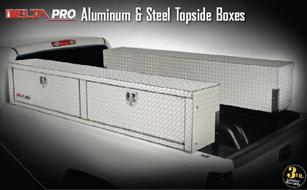 truck tool boxes Delta topsides