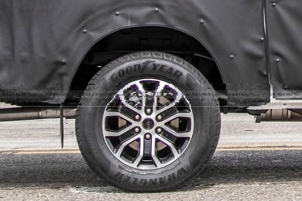2023 Ford Ranger wheels
