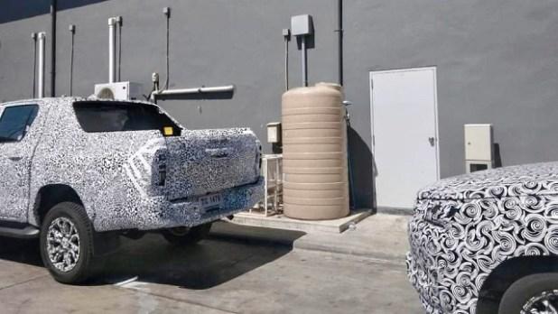 2023 Toyota Hilux rear
