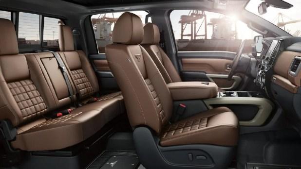 2022 Nissan Titan Diesel interior