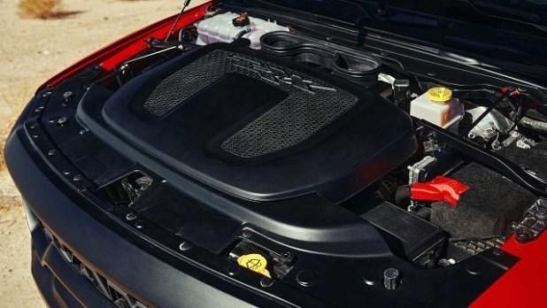 2022 Ram 1500 TRX engine