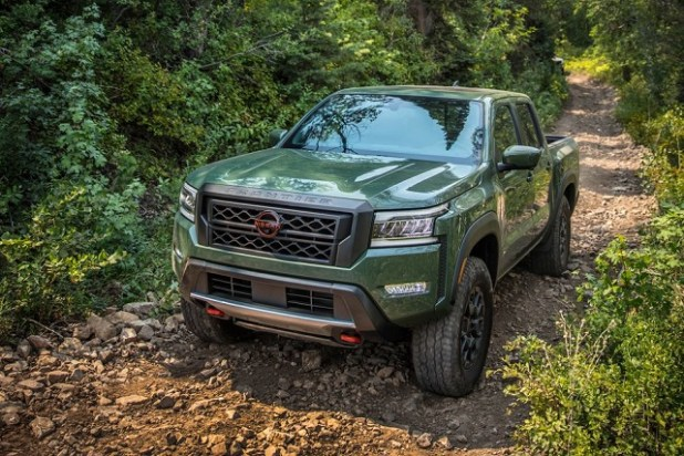 2023 Nissan Frontier front
