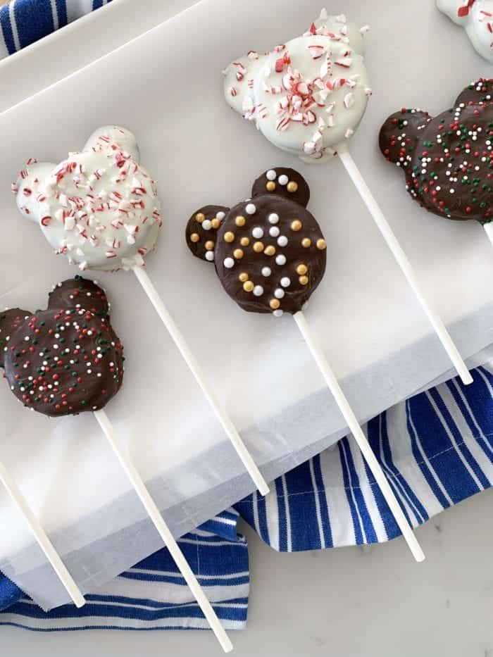 Mickey Mouse Chocolate Covered Oreo Pops Disney Hungry