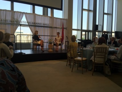 Her Serene Highness, Princess Charlene of Monaco in conversation with Mary Hart