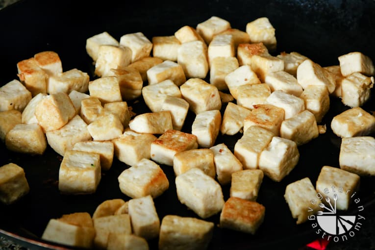 VG sweet and sour vegetable tofu-2
