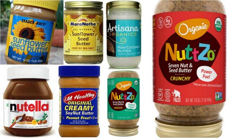 Alternative nut and seed butters