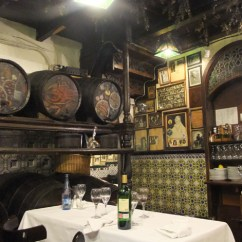 Old Kitchen Tables Home Depot Light Fixtures Los Caracoles Review – Eating Snails In Barcelona | The ...