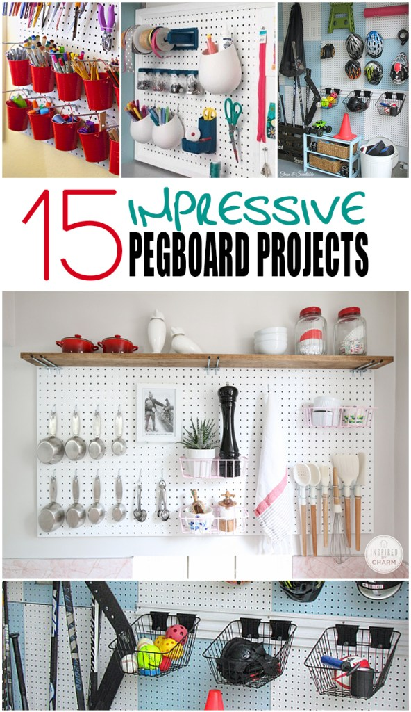 15 Impressive Pegboard Projects