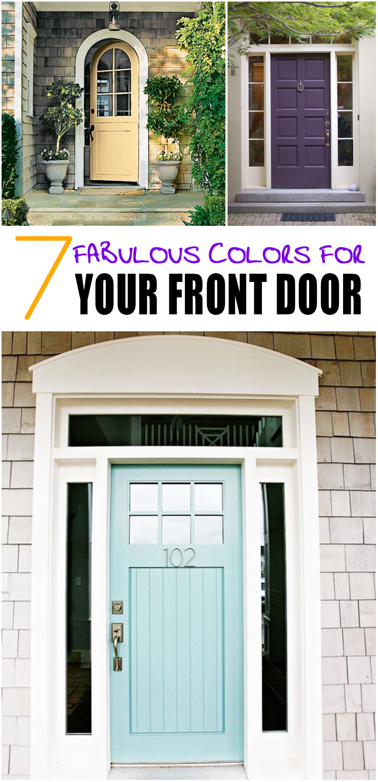 7 Fabulous Hair Magazines You Ve Got To Flip Through Hair: 7 Fabulous Front Door Colors