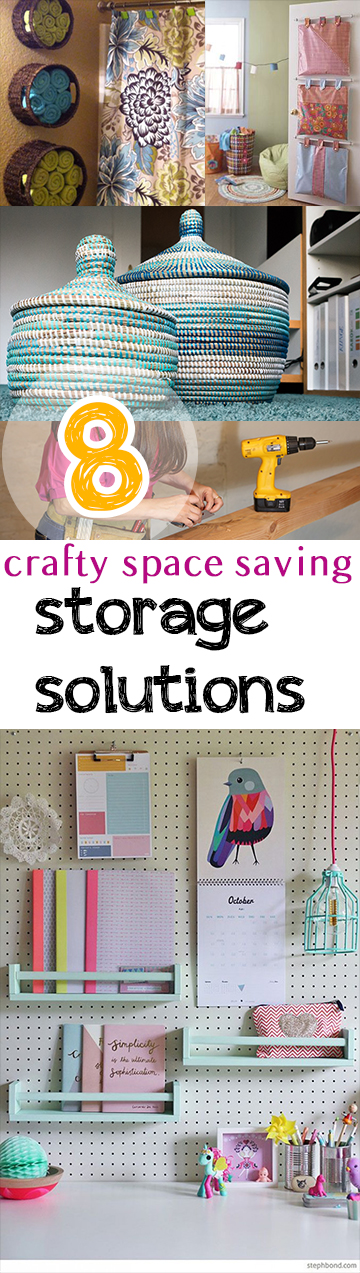 8 Crafty Space Saving Storage Solutions (1)