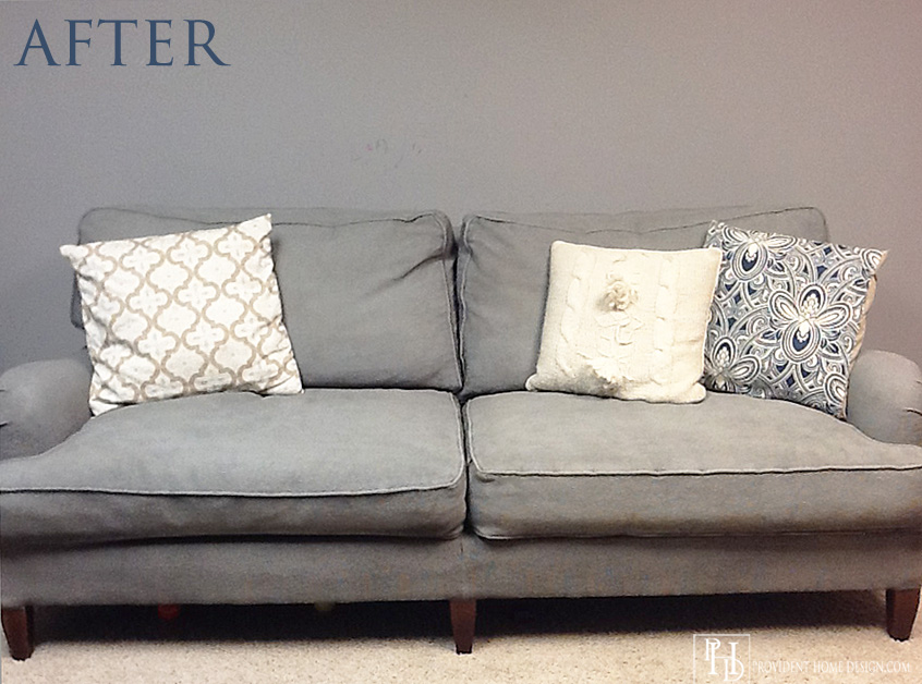 How to Paint an Upholstered Chair {and Not Be a Disaster}4