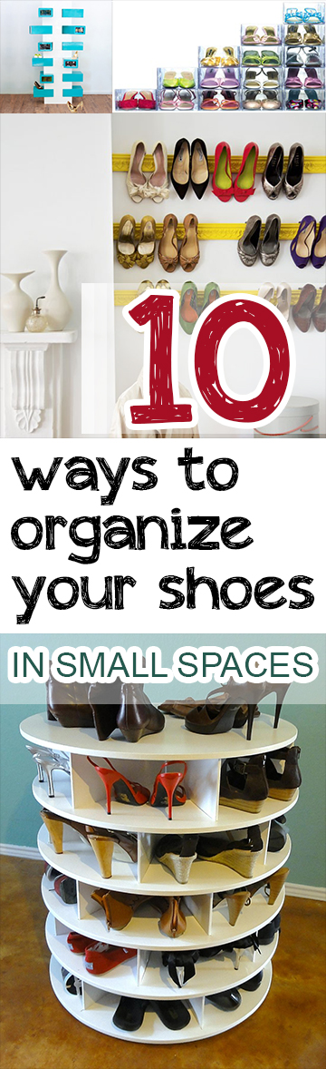 10 Ways To Organize Your Shoes In Small Spaces Picky Stitch