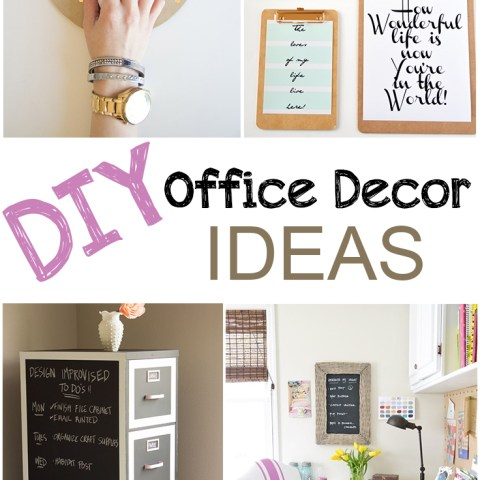 Office decor, easy office decoration, office inspiration, DIY office, popular pin, home office, work from home, interior design hacks, home improvement.