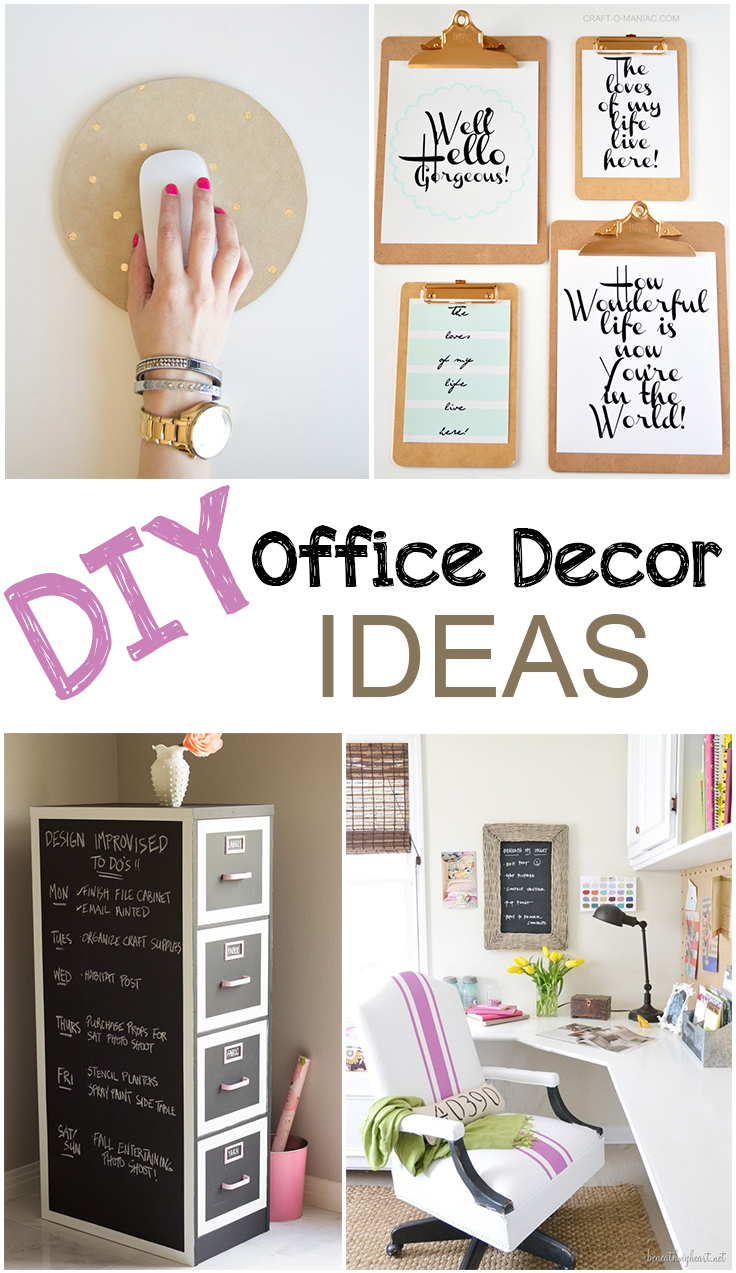 Superbe Office Decor, Easy Office Decoration, Office Inspiration, DIY Office,  Popular Pin,