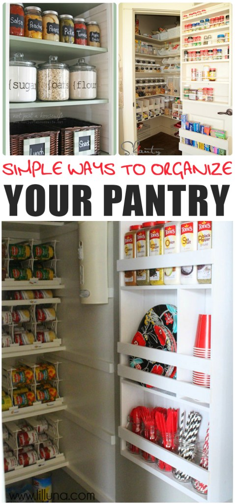 Simple Ways to Organize Your Pantry