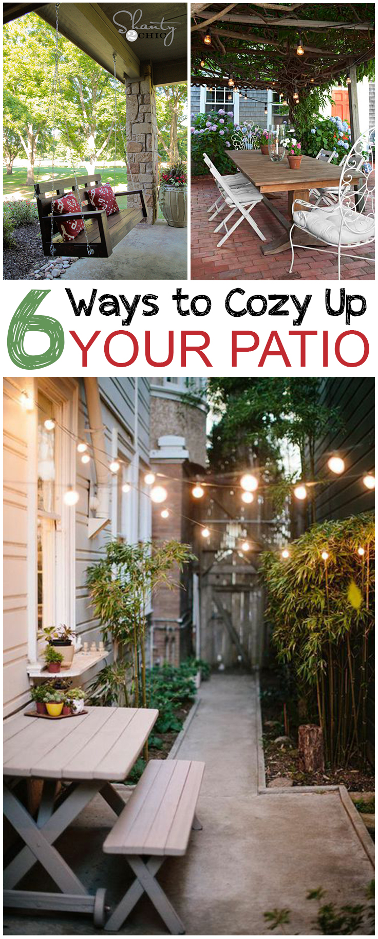 6 Ways to Cozy Up Your Patio • Picky Stitch on Cozy Patio Ideas id=47596