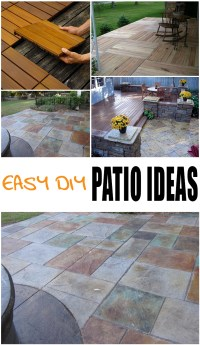 {Easy} DIY Patio Options - Page 2 of 7 - Picky Stitch