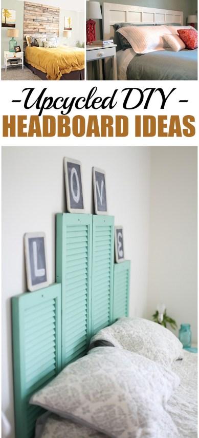 Upcycled DIY Headboard Ideas