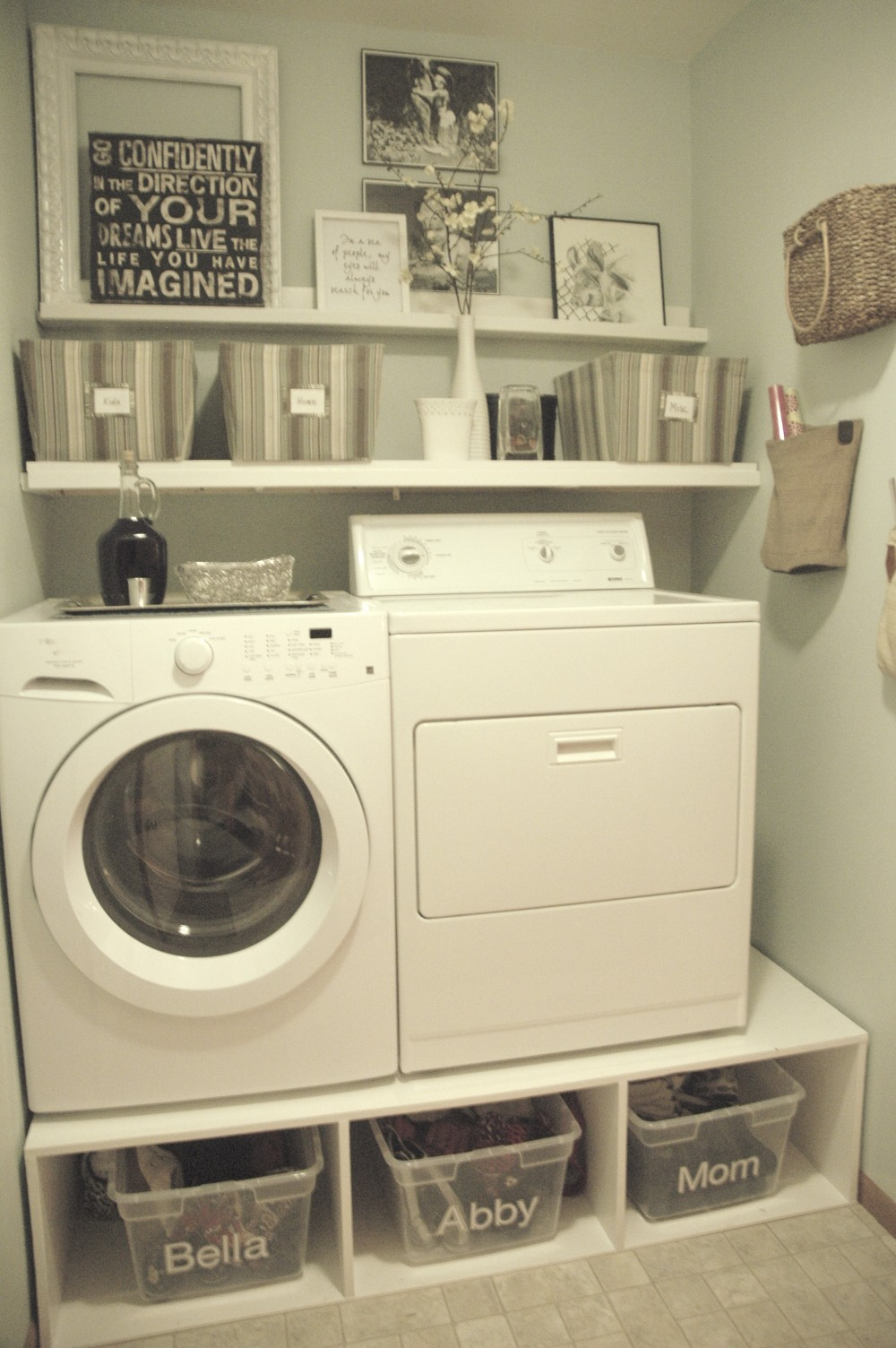 How to Organize a Small Laundry Room - Page 4 of 13 ... on Laundry Room Organization Ideas  id=75657
