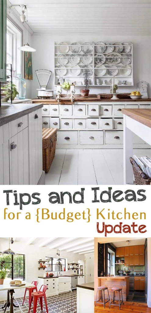 Tips and Ideas for a {Budget} Kitchen Update