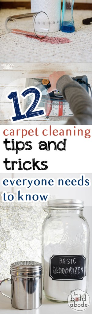 12 Carpet Cleaning Tips and Tricks Everyone Needs to Know