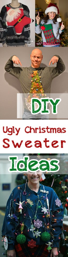 DIY Ugly Christmas Sweater Ideas