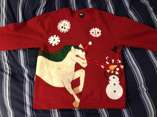 DIY Ugly Christmas Sweater Ideas - Page 3 of 12 - Picky Stitch