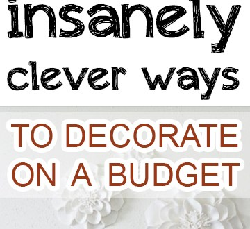Home decor, interior design, popular pin, home, decor, DIY home decor, budget decorating, frugal living. #BudgetDecor #BudgetDecoration #CheapHomeDecor #HomeDecorDIYs #DIYHomeDecor #DIYHomeImprovements