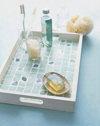 10 Ways to Decorate with Sea Glass5