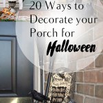 Halloween porch decor, Halloween, Halloween decor, DIY porch, DIY home, holiday decor, holiday porch decor, Halloween holiday, popular pin, DIY.