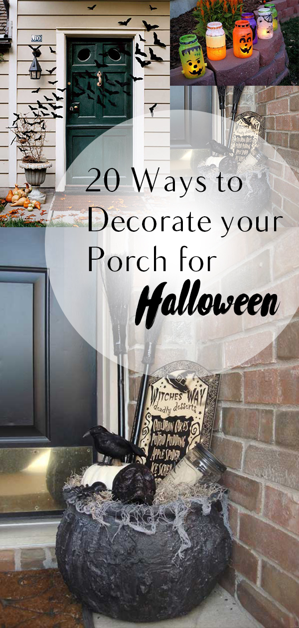 Halloween porch decor, Halloween, Halloween decor, DIY porch, DIY home, holiday decor, holiday porch decor, Halloween holiday, popular pin, DIY.