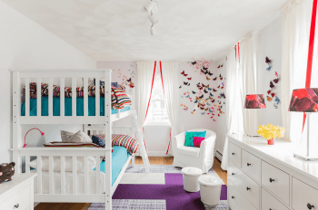 25 Incredible Shared Bedroom Ideas for your Kid16