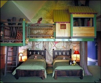 25 Incredible Shared Bedroom Ideas for your Kid18