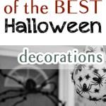 Halloween decorations, DIY halloween decorations, decorating for Halloween, popular pin, fall holiday.