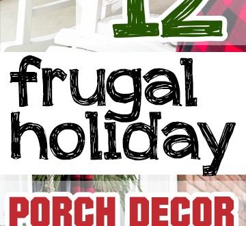 Holiday porch decor, porch decor ideas, DIY holiday decor, popular pin, Christmas decor, DIY home, Christmas, Christmas porch decor.