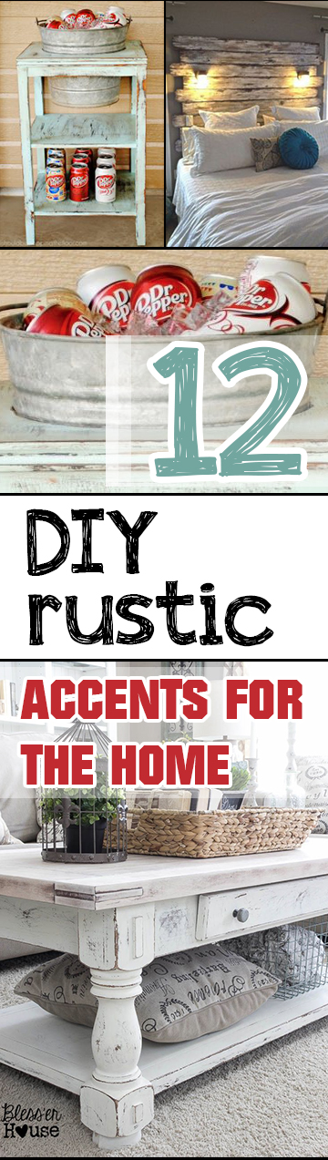 DIY Accents, Rustic Accents, DIY Home Decor, Home Decor, DIY Home, DIY Tutorials, Easy DIY, Interior Design, Interior Design Hacks